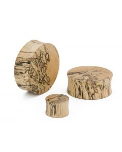 Tamarind Wood Solid Plug – Price Per 1 Different Views