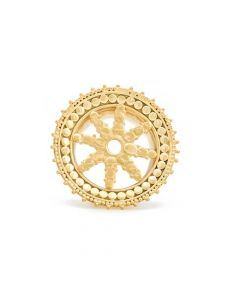 Radial Starshine Yellow Gold Plated Plug — Price Per 1