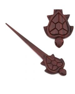 Turtle Wooden Wholesale Hair Stick