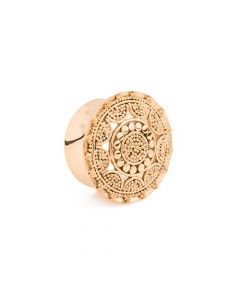 Tribal Sunshine Gold Plated Plug (Thumbnail)