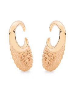 2g Hawk Wing Gold Ear Weights (Thumbnail)