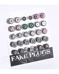 Fake Plug Acrylic Display — 30 Fake Plugs