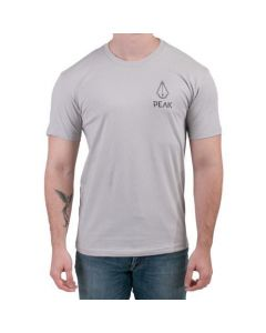 Peak Needle Quartz Unisex Light Grey Tee (Thumbnail)