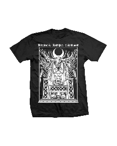 Throne Black Tee for Men — Black Hope Curse