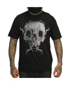 Sullen Written Men's Black Tee Front