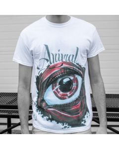 Animal Eye Men's White Tee