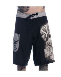 Color Crimes Sullen Board Shorts – Men's Shorts Front View