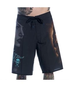 Rember Board Shorts by Sullen Front View