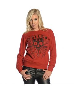 Tough Luck Women's Pullover Fleece by Sullen