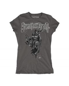 SFB Munster Mannequin Women's Charcoal Gray Tee Front