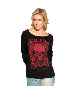 Sullen Angels Psychedelic Women's Long Sleeve Shirt Front