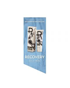 Recovery Sold Here Window Cling — Ice Background (Thumbnail)