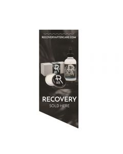 Recovery Sold Here Window Cling — Smoke Background (Thumbnail)