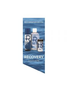 Recovery Sold Here Window Cling — Water Background (Thumbnail)