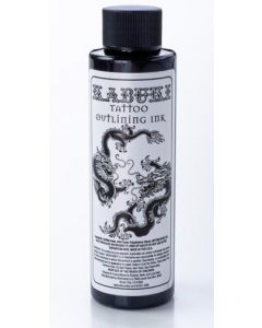 Kabuki Black Outlining Wholesale Tattoo Ink - 4oz Bottle