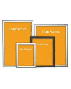 Limitless Snap Poster Frame — Black or Silver Finish