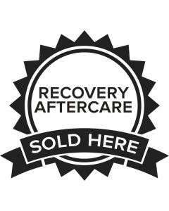 Recovery Sold Here Vinyl Window Sticker — Price Per 1