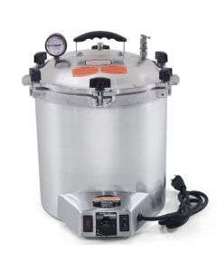 All American 25X-120V or 240V Electric Sterilizer - Autoclave