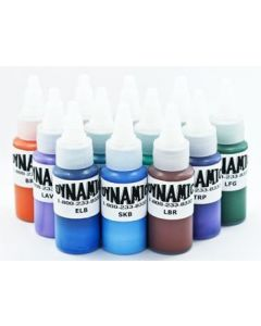 Dynamic Blends Pack Tattoo Ink 1oz Bottles - 12 Colors