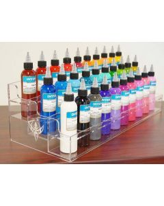 1oz Ink Bottle Holder - 30 Bottles Can be Displayed or Held