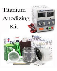 Titanium Anodizing Kit