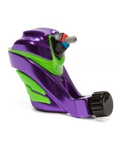 EGO Apex Overkill Purple/Green Rotary Tattoo Machine