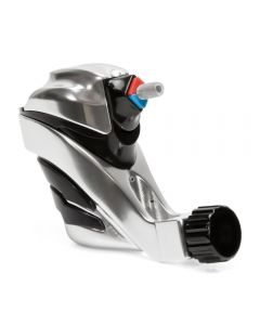 EGO Apex Overkill Silver/Black Rotary Tattoo Machine