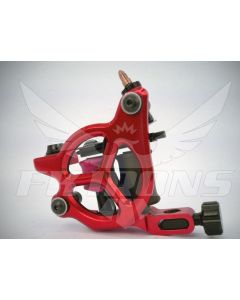 AL13 Galaxie III Power Liner Tattoo Machine in Ruby by FK Irons