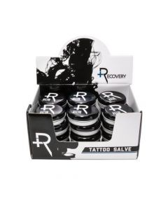 Recovery Aftercare Tattoo Salve Open Display Case