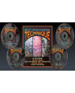 Guy Aitchison: Technique — Four Disc DVD Set