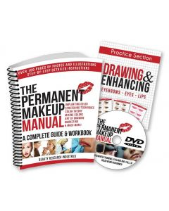 The Permanent Makeup Manual - A Complete Guide Book with Complimentary DVD - English Version
