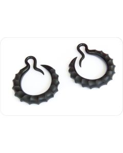Ibex Crescent Hoop Ear Weight — Custom Made — Price Per 1 (Main)