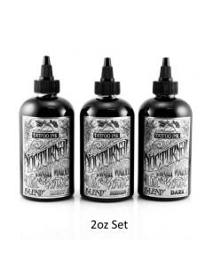 Nocturnal Tattoo Ink West Coast Blend 2oz Set