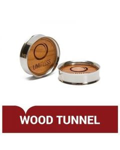Stainless Steel Tunnel with Wood Disc