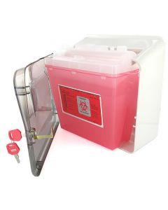Bemis Sharps Cabinet Only - Use with 5qt Sharps Container & Glove Box Holder