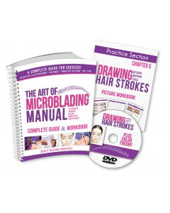 The Art of Microblading Manual & DVD Set