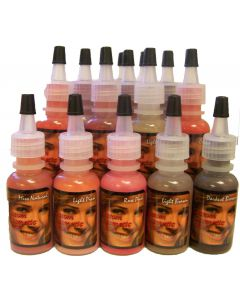 Custom Cosmetic Colors Permanent Makeup Tattoo Ink - Price Per 1/2oz Bottle