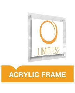 Custom Acrylic Frame Display