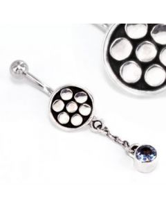 Simple Dangle Bali Belly Ring