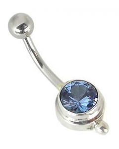 Bali Bling Indonesian Belly Button Ring