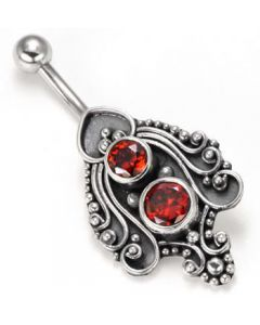 Grandeur Indonesian Belly Button Ring