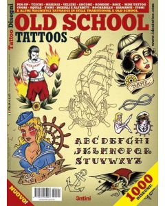 Old School Tattoos Design Book Cover