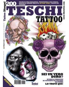 Skull Tattoo Design Book Cover
