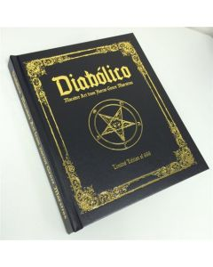 Diabolico: Macabre Art from Horror Genre Maestros Hardcover Book Cover 1
