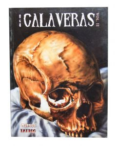 Calaveras Volume II – A Book of Skulls by Revista Arte Tattoo Cover