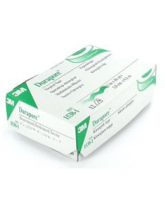 "Case of 12 1""-Wide Rolls of 3M Durapore Cloth Surgical Tape"
