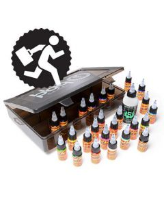 Eternal Ink Travel Set – Top 25 Color 1/2oz. Set & Stencil Stuff 4oz. Transfer Formula