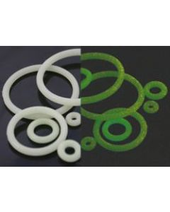 """18g-1"""" Spare O-Rings- Glow- Contast"""