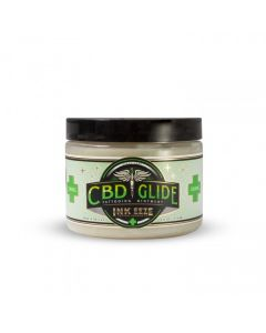 INK-EEZE CBD Glide Tattooing Ointment — 6oz Jar
