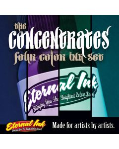 The Concentrates Set of Four — 1/2oz Bottles — Eternal Tattoo Ink